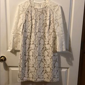 Vince Camuto Lace Dress with Lining